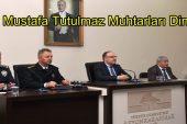 Vali Mustafa Tutulmaz Muhtarları Dinledi