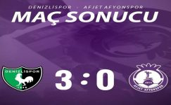 Denizli'ye 3 gol ile mağlup olduk !!