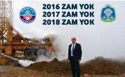 SANJET'E BU YILDA ZAM YOK