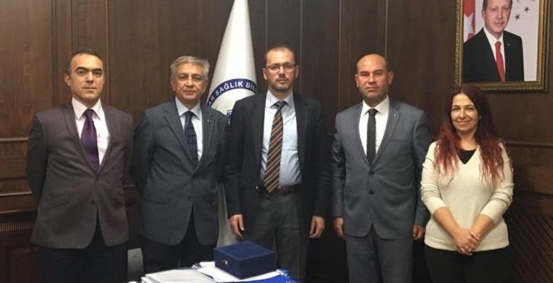 Prof. Dr. Nurullah Okumuş'a ziyaret