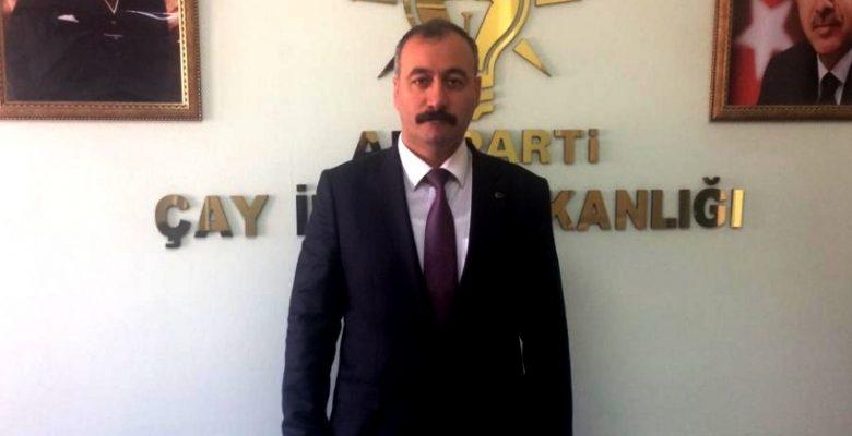 """Halil Fidan, """"Çay Belediye Başkanlığına Talibim"""""""