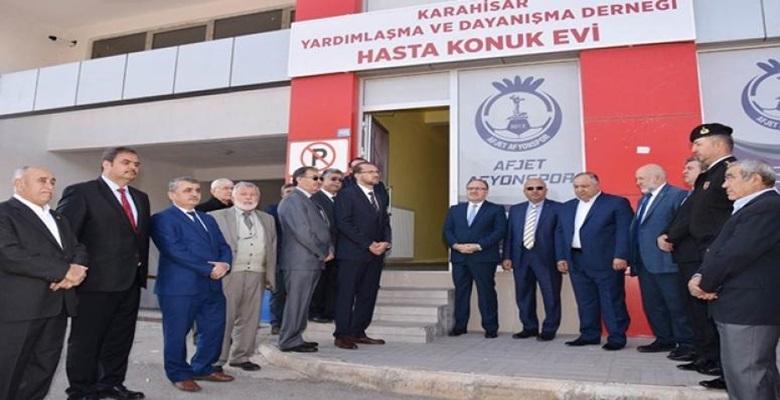 Hasta Konuk Evi Vali Tutulmaz'ın Katılımı ile Açıldı