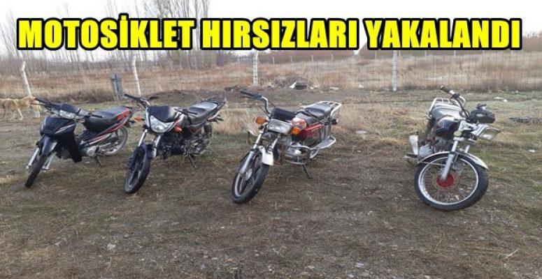 Motosiklet Hırsızları Yakalandı !!!