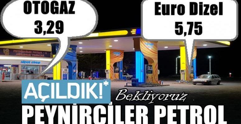 Peynirciler Petrol, Afyon-Konya yolunda Hizmete Açıldı !!