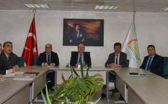 Vali Mustafa Tutulmaz'ın Başkanlığında Toprak Koruma Kurulu Toplantısı Yapıldı