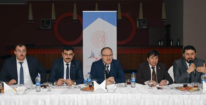 Makine Sektörü İşbirliği Çalıştayı Vali Mustafa Tutulmaz'ın Katılımı ile Yapıldı