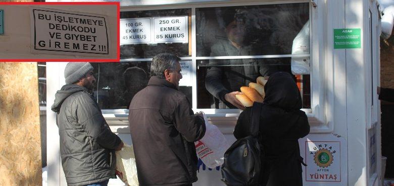 """""""Bin yıllık Osmanlı geleneği devam ettiriliyor"""""""