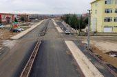 Dinar'ın İlk Duble Bulvar Yol Çalışması Tamamlandı