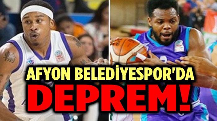 AFYON BELEDİYESPOR'DA DEPREM!..