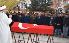 Kıbrıs Gazisi Hacı Ali Fırın Son Yolculuğuna Uğurlandı