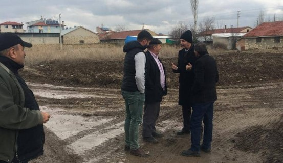 """Başkan Bozkurt, """"Yağmur Çamur Demeden Çalışıyoruz"""""""