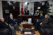 Yazarlardan Başkan Saffet Acar'a Teşekkür Ziyareti