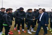 Vali Mustafa Tutulmaz Afjet Afyonspor Futbolcuları ve Teknik Ekibine Moral Desteğinde Bulundu