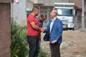 Başkan Bozkurt Aydın Caddesini İnceledi.