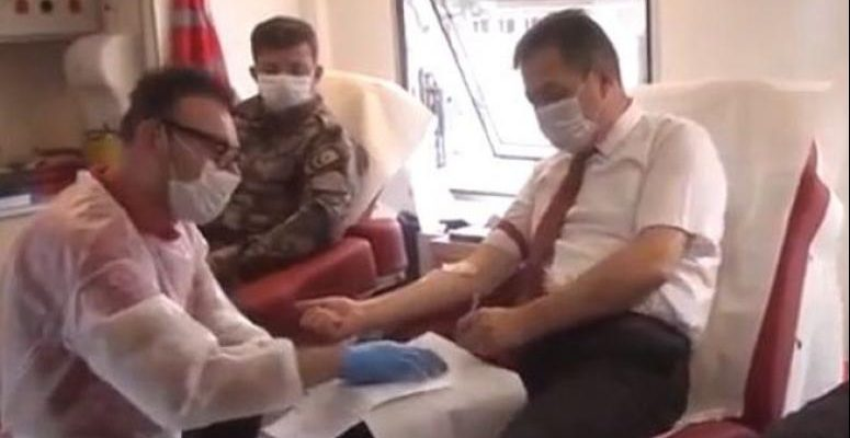 Afyonkarahisar Polisinden 'Kan ver Afyon' kapmayasına destek