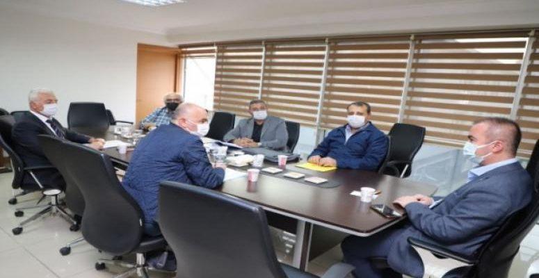 Başkan Uluçay Talep Ve Önerileri Ulaştırma Bakanına İletecek