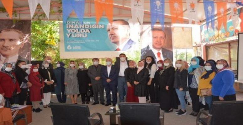 Dinar Ak Parti Kadın Kolları Kongresi Gerçekleştirildi