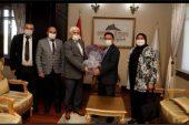 Kent Konseyi'nden Vali Çiçek Ve Ak Parti İl Başkanı Uluçay'a Ziyaret