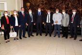 Zeybek Başkan İyi Parti Yönetimini Kabul Etti
